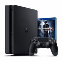 Ps4 Playstation 4 Slim 500gb Ps4 + Uncharted Novo Barato