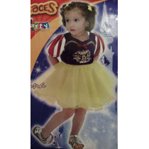 Disfraz Blanca Nieves Bailarina Bebe 6-12 Meses