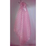 Mantillas Bebe Crochet Artesanales 90 X 90cm