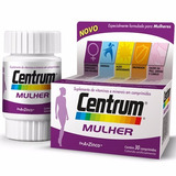 Centrum Mulher Suplemento Vitamínico Mineral A-z Com 30 Cpr