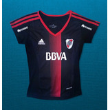 Camiseta River Suplente Dama 2017