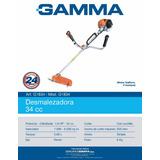 Desmalezador Gamma 40 Cc Naftero