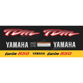 Kit Adesivo Emblema Yamaha Tdm 850 Preta Yhtdm85009