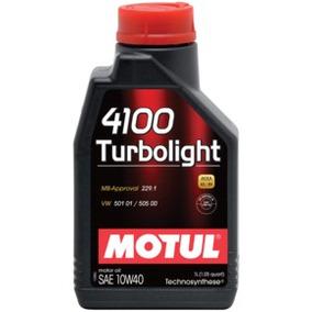 4100 Turbolight 10w40 Motul 4 Litros