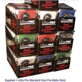 Cards Sleeves Deck Protector Ultra Pro Matte Standard Mtg