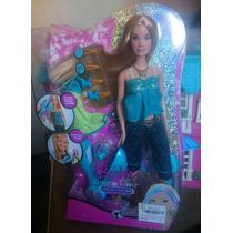 Boneca Barbie Mechas No Cabelo Acessórios Ultra Hair
