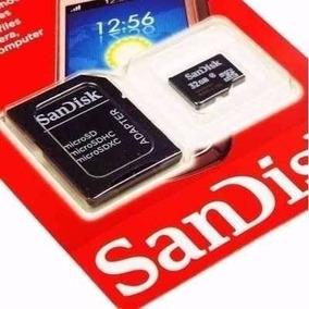 Cartão De Memória Micro Sd 8,16 E 32,gb Sandisk