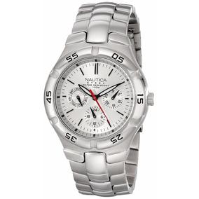 Reloj Nautica N10074 Acero Inoxidable Envio Gratis