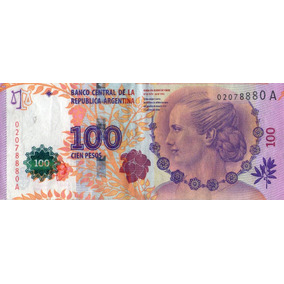 Billete 100 Evita Serie A M/b