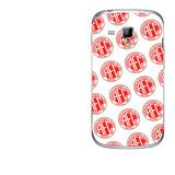 Capa Adesivo Skin303g1 Verso Para Galaxy S Duos Gt-s7562l