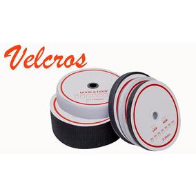 Velcro Simples 50mm Colorido - Macho E Femea - 1 Rolo