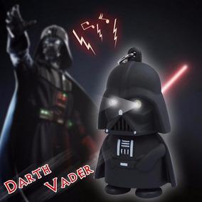 Boneco Darth Vader Chaveiro Com Luzes
