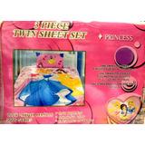 Edredon Infantil + Juego De Sabana Princesas Disney