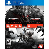 Evolve Ultimate Edition Ps4 Fisico Nuevo Sellado