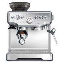 Cafetera Maquina Espresso Capuchino Breville Molino Acero