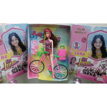 Muñeca Soy Luna Con Bicicleta Y Patines