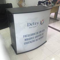 Balcão Promocional Para Degustação Em Mdf Desmontável