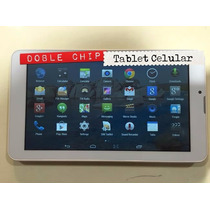 Tablet Celular 7 Android 5.1 3g Doble Chip Liberada Locales