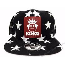 Boné Estrelas Original Kings Aba Reta Snapback Sneakers Star