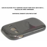 Capa Case Galaxy Fame Duos S6810 S6812 + Película Vidro