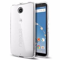 Nexus 6 Carcasa Spigen Ultra Hybrid Crystal Clear