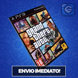 Gta 5 V Ps3 Grand Theft Auto Cod Psn Original Imediato