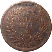 1 Centavo 1888/7 Mo República Mexicana