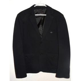 Saco Zara - Negro Estilizado Elegante - Remate!!