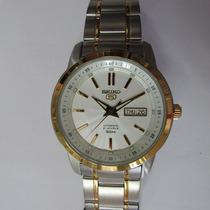 Relógio Pulso Seiko Automático Masculino Misto Snkm92b1