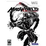 Madworld Nintendo Wii Nuevo Fisico Sellado Gamebox