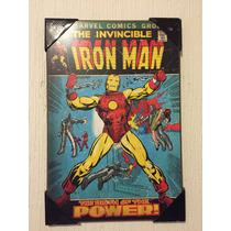 Cuadros Spiderman Hulk Batman Iron Man Capitan America