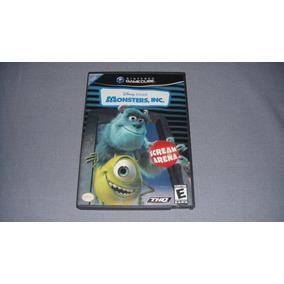 Monster Inc Scream Arena Gamecube Compatible Con Wii