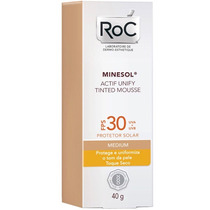 Roc Minessol Actif Unify Tinted Mousse Fps 30 - 40g