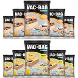 Combo: 10 Saco A Vácuo Vac Bag - 5 Médios + 5 Grandes Ordene