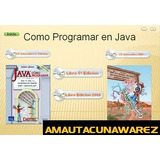 Manual Java (libro Completo + Videotutoriales)