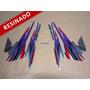 Kit Adesivos Cb500 1999 Prata - Resinado - Decalx