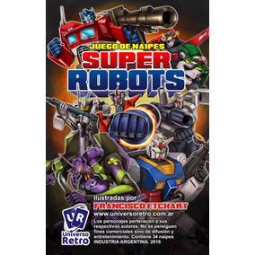 Cartas Robot Robotech Mazinger Transformers Universo Retro