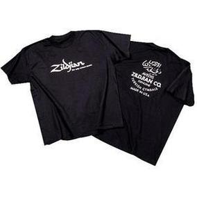 Camiseta Zildjian, Sabian, Paiste, Dw, Ludwig, Regata
