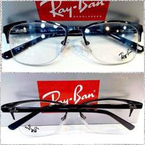 Rb9113 Fio De Nylon Armação Receituário Grafite Óculos