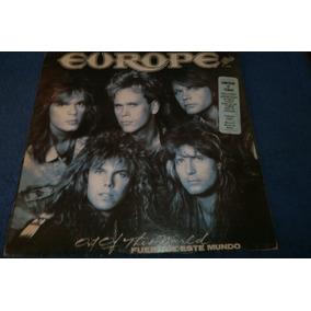 Europe Fuera De Este Mundo Vinilo Lp Edicion Original 1989