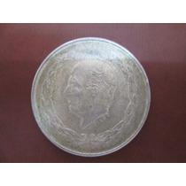 Moneda Antigua Hidalgo 5 Pesos Grande Plata Ley .725 Envio G