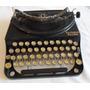 Antigua Máquina Escribir Remington Portable Chica