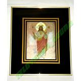 Imagen Sagrado Corazon De Jesus Cuadro Enmarcado Tornasol