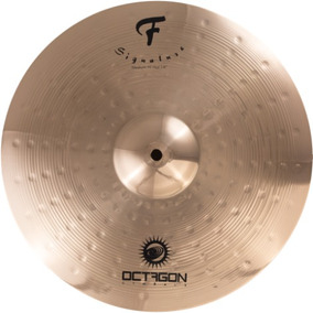Prato Chimbal Medium Hi Hat Bateria Octagon 14 F Signature