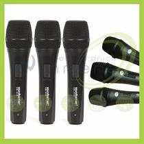 Soundbarrier Sbm 8153pk Kit 3 Micrófonos Paquete Winners