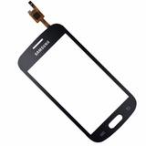 Tela Vidro Touch Galaxy Trend Lite Duos Gt-s7392l Preto
