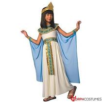 Disfraz Para Niña Niñas Reina Egipcia Del Vestido De Lujo D