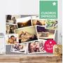 Dia De Los Enamorados - Collage Cuadro Impreso Simil Lienzo