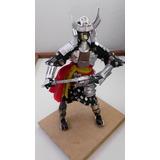 Figuras En Latas Samurai Decoracion Escultura Muñeco Recicla