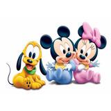 Etiquetas Golosinas Personalizadas -candy Mickey&minnie Bebe